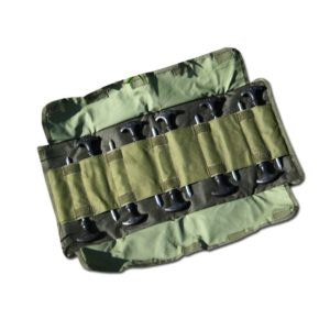 nash stealth 8inch t pegs tool roll 1