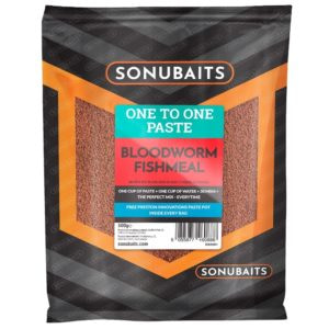 sonubaits one to one paste bloodworm and fishmeal