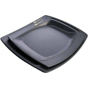 RidgeMonkey SQ DLX Melamine Plate Pack 1