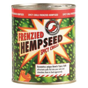 dynamite baits frenzied spicy chilli hempseed tin 700g 1
