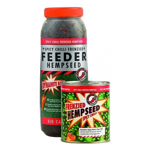 Dynamite Baits Frenzied Spicy Chilli Hempseed Tin 2 1